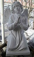 Ангел молящийся из полимера 57 см