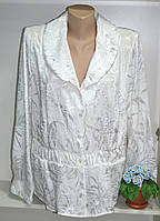 Блуза женская белая на пуговицах хит продаж, фото 1