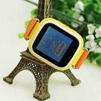 Оригинал! Умные часы Q80, Smart Baby Watch Q80 c GPS трекером Оранжевый