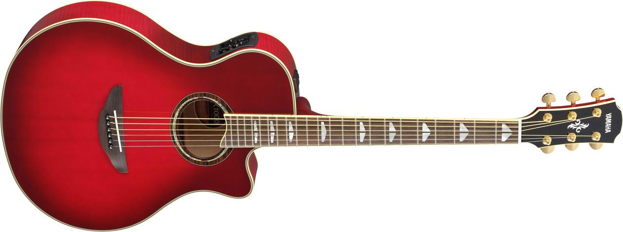 Акустическая гитара c датчиком Yamaha APX1000 CRB