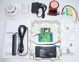Комплект GSM сигнализации Сторож 4М KIT