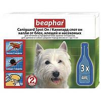 Капли Beaphar Caniguard Spot On от блох и клещей для собак средних пород и щенков №3