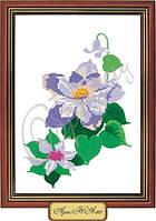 Схема для вышивки бисером «Цветочное соцветие»
