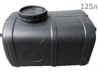 Емкость черная (не пищевая) пластиковая горизонтальная Euro Plast EG 125