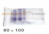 80 Х 100 Пакеты струна с замком Zip-Lock