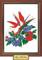 Схема для вышивки бисером «Цветочная экзотика»