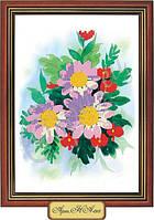 Схема для вышивки бисером «Цветы эхинацеи»