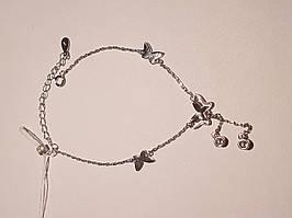 Срібний браслет з фіанітами. Артикул Б2Ф/810