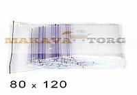 80 Х 120 Пакеты струна с замком Zip-Lock