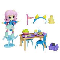 Игровой набор Флаттершай Школьное кафе Equestria Girls Minis Hasbro