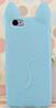 Чехол силиконовый Голубой кот iphone 5/5S