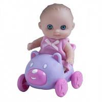 Пупс-малыш с машинкой JC Toys JC16912-7, 13см