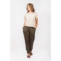 Летние женские брюки из натуральной ткани, Индия