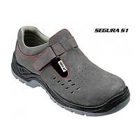 Ботинки рабочие кожаные Yato 41 размер YT-80465