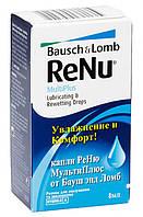 Капли для глаз ReNu Lubricating & Rewetting drops 8 мл