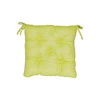 Подушка на стул 40х40 Лайм