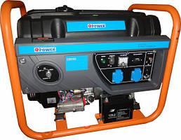 Бензиновый генератор Q-Power QPG7000E (6,3 кВт)