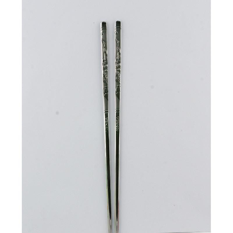 Металлические палочки для еды «Журавли»