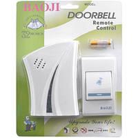 Беспроводной звонок для дома BAOJI 610 AС: радиочастота 50/60 Гц, радиус до 100 м, 32 мелодии