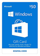 Windows Store 50 USD