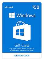 Windows Store 50 USD