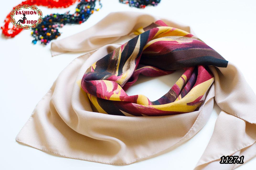 Женский шерстяной платок Абстракт