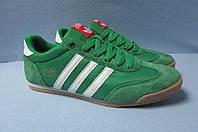 Мужские кроссовки Adidas 831-6 зеленые код 1048А