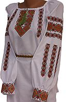 """Жіноча вишита блузка """"Мерлін"""" (Женская вышитая блузка """"Мерлин"""") BN-0096"""