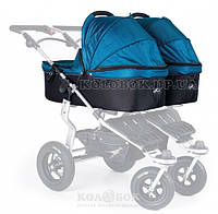 Люлька для коляски TFK Twinner Twist Duo carbo/oceanblue