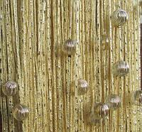 Дождь с Бусинами №13 Шампань