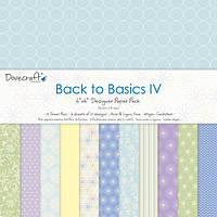 Скрапбумага Back to Basics IV, 20х20 см, 12 шт.