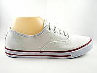 Кеды в стиле Vans белые, Ванс