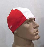 Шапочка спортивная AQUASPLASH, красно-белая, Отл сост