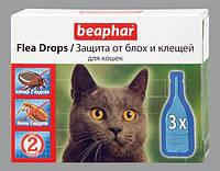 Капли Beaphar Flea Drops от блох и клещей для кошек №3