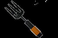 Трезубец для пересадки QuikFit™ Fiskars (137552)