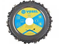 Vorel 08771 диск ланцюговий по дереву на болгарку 125мм