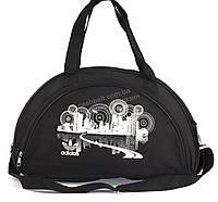 Спортивная черная женская сумка art. 129 Украина