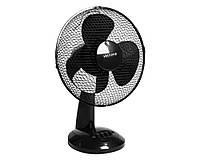 Настольный вентилятор, черный, 30 см, Volteno