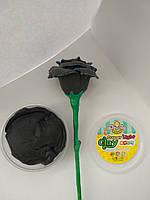 Супер легкий пластилин (масса для лепки) 20 грамм Черный