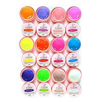 Цветные гели поштучно матовые и пурламутровые по 5мл Минимальный заказ 5 штук, фото 1
