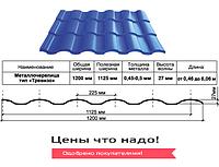 Металлочерепица Тревизо 0,45 мм