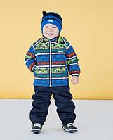 Демисезонный утепленный костюм для мальчика Lenne RALLY, цвет 6010. Размер 86 и 92. 86