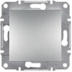 Schneider Asfora Plus Механизм перелючателя 1-клавишный проходной алюминий