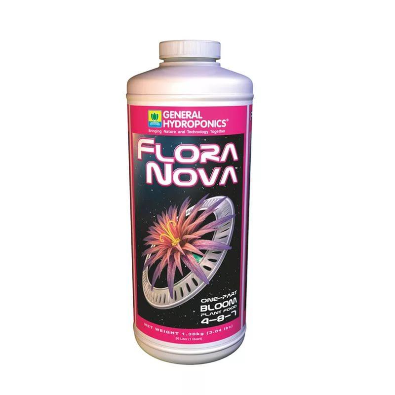 GHE FloraNova Bloom 946ml. Оригинал. Минеральное удобрение для гидропоники. Франция.