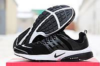 Кроссовки Nike Air Presto черные с белым 1741
