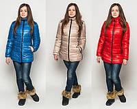 Куртка женская зимняя Letta №25 (р.48-54)