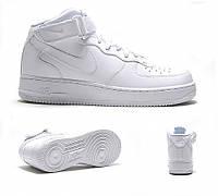 Кроссовки Мужские Nike Air Force 1 mid white