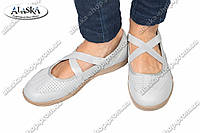 Женские туфли серые (Код: 1-17А)