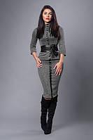 """Стильный костюм из итальянского трикотажа  - """"Чикаго"""" код 269, фото 1"""