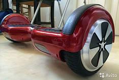Гироскутер платформа Smart Way U8 (Смартвей) мини сигвей (гироцикл) бордовый с прорезиненным верхом